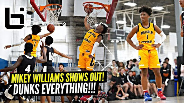 Mikey Williams Demolishes the Competition & Dunks EVERYTHING!