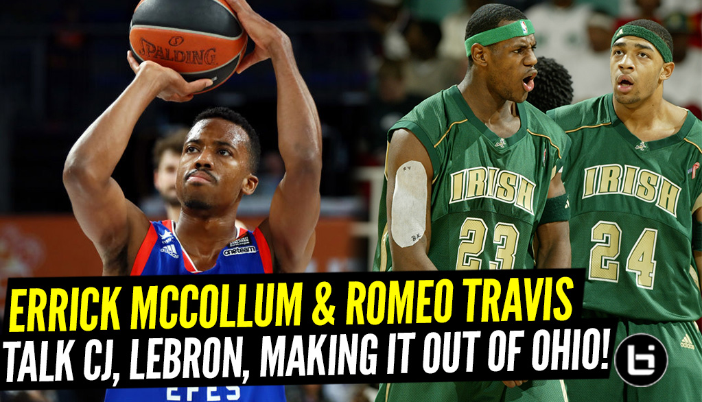 Positionless: 330 Talk With Errick McCollum And Romeo Travis As They Talk About Playing Overseas, CJ and LeBron friendships, Being Teammates And More.