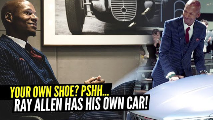 Most NBA Stars Have Their Own Shoe. NBA Legend Ray Allen Has His Own Maserati Car