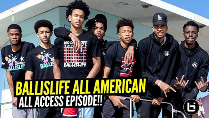 2019 Ballislife All American ALL ACCESS Episode!