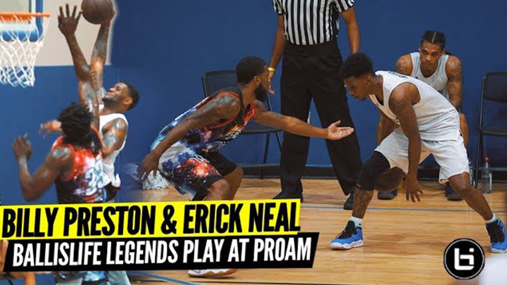 Ballislife Legends Billy Preston & Erick Neal Teamed Up and Went WILD at Dallas ProAm!
