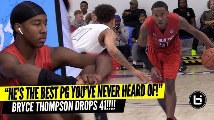 Bryce Thompson is the Best PG You've Never Heard of!! Drops 41 Pts!!!
