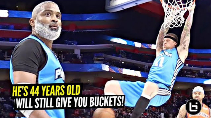 44 Year Old NBA Pro Still Getting BUCKETS at the Big 3!!! Cuttino Mobley THE REAL UNCLE DREW!