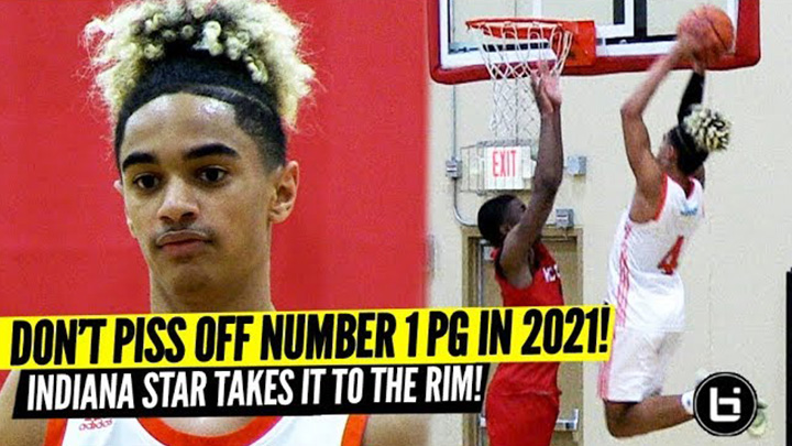Don't Piss Off the #1 Point Guard! Khristian Lander Dominates at Adidas Gauntlet!