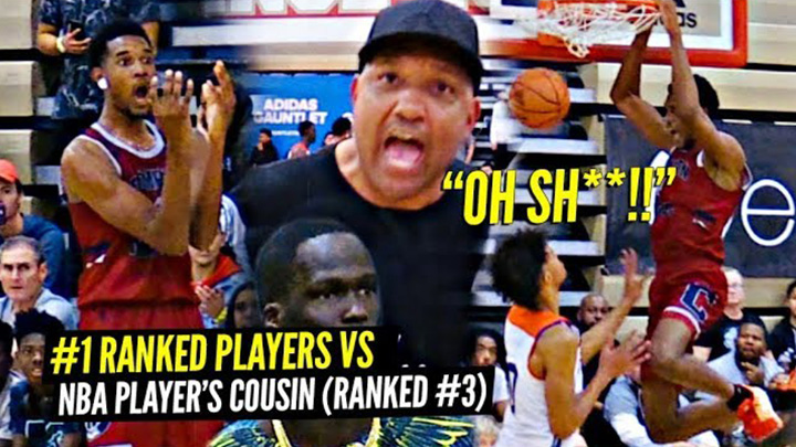 #1 Ranked Evan Mobley vs Makur Maker GOT HEATED!!