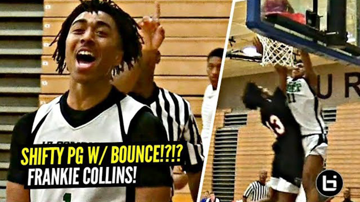 SHIFTY Point Guard w/ BOUNCE!! Frankie Collins is NEXT UP In Arizona!