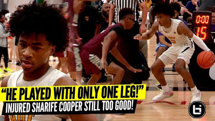 Injured Sharife Cooper is STILL Too Good!!