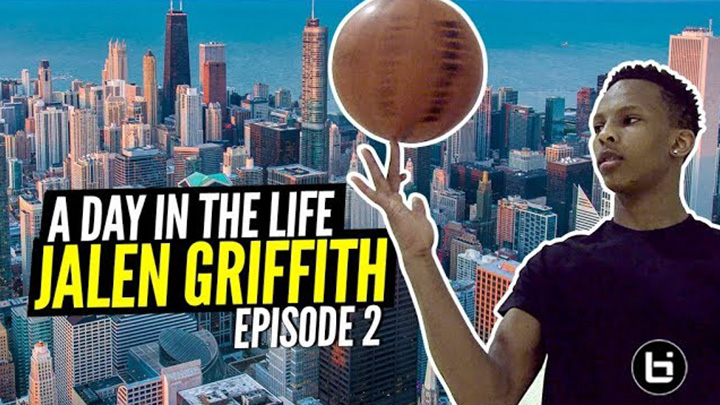 DAY IN THE LIFE: Jalen Griffith EPISODE 2 South Side Playground to West Side Barbershop!!