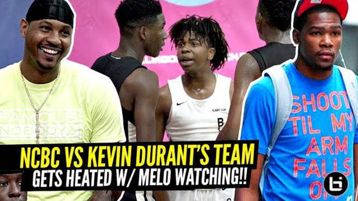 North Coast Blue Chips HEATED Game vs Kevin Durant's...