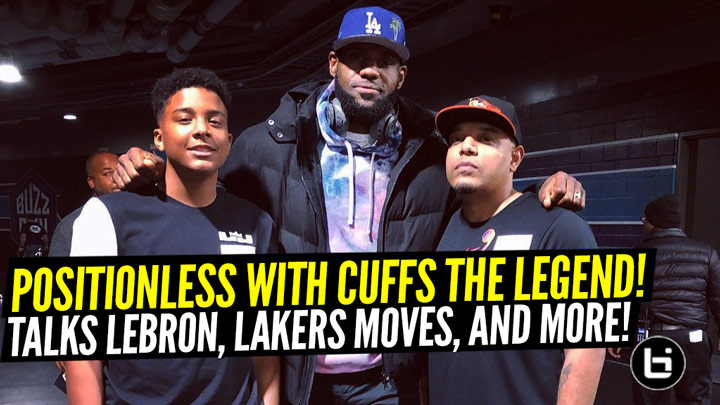 Cuffs The Legend Talks Lakers, NBA Finals, NBA Training, Draft Prospects And More!