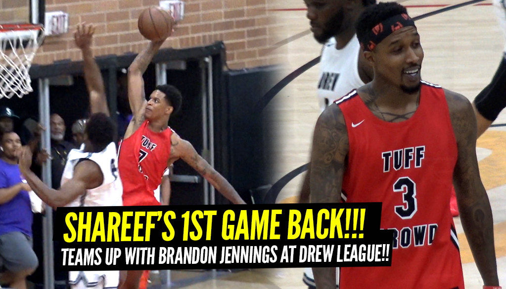 Shareef O'Neal Teams Up w/Brandon Jennings in FIRST...