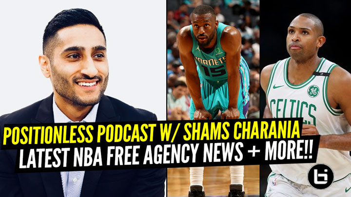 "Shams Charania Discusses The Latest Free-Agency News And His Career Progression On ""Positionless"" Podcast."