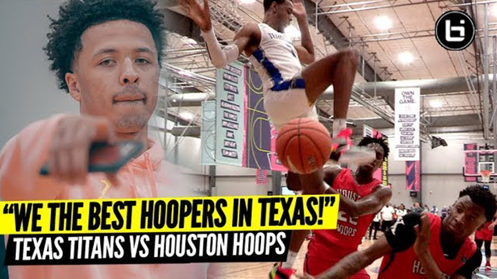 """Naw We Run Texas!"" Texas Titans vs Houston Hoops Rivalry Game!"