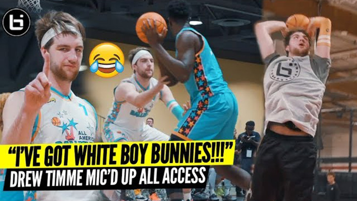 Drew Timme is HILARIOUS 😂 Mic'd Up at Ballislife All American Weekend!!