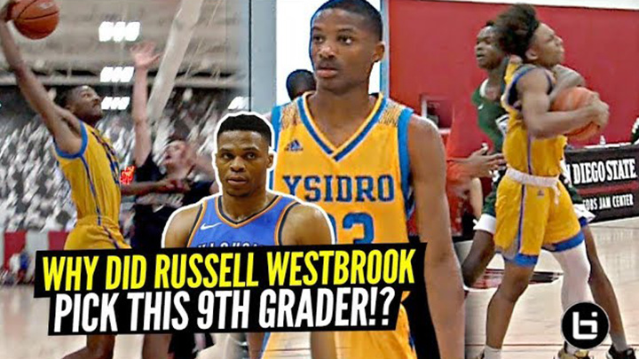 Russell Westbrook Picked This 9th Grader To Be On His AAU Team! Here's WHY! DJ Dudley