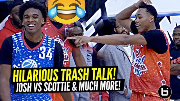 Josh Christopher vs Scottie Barnes!! They Were Talking That TRASH!!