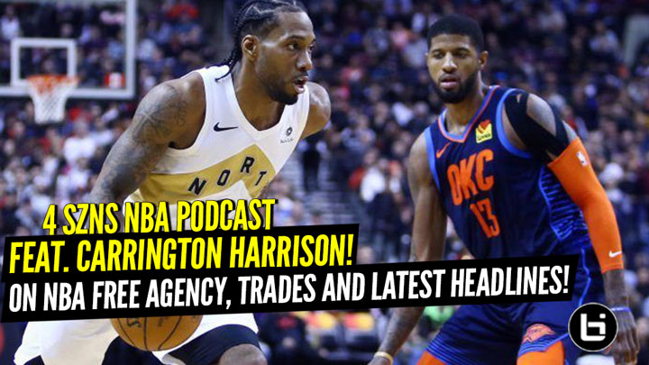 Free Agency, Trades, and Latest News with Carrington Harrison!