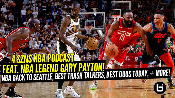 Gary Payton on an NBA Return to Seattle, All-Time Best...