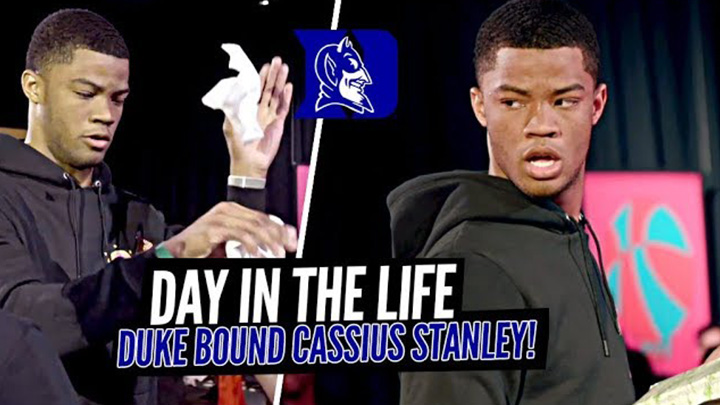 Day in the Life w/ Duke Commit Cassius Stanley at Jordan Brand Classic!!