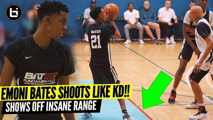 Emoni Bates Has The Same Shooting Form As Kevin Durant!