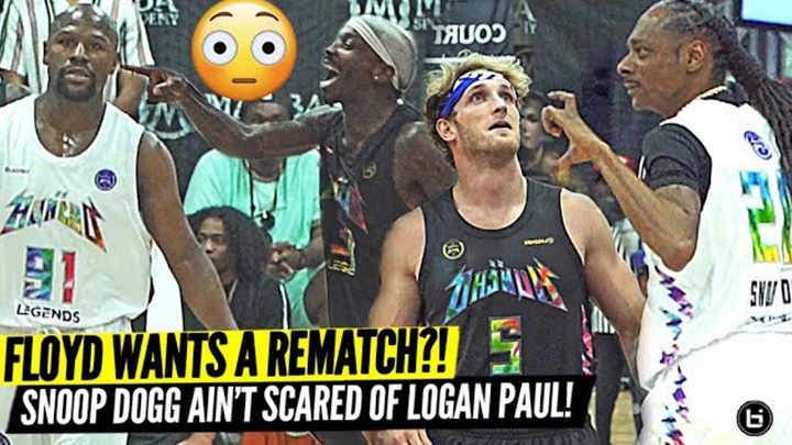 Floyd Mayweather vs Bone Collector at Quavo Celebrity Basketball Game?! Snoop Dogg vs Logan Paul!