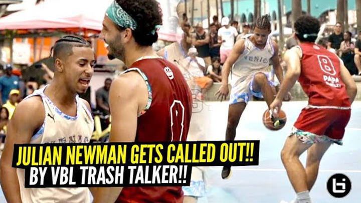 Julian Newman Gets CALLED OUT By Trash Talker!! Ends Up...