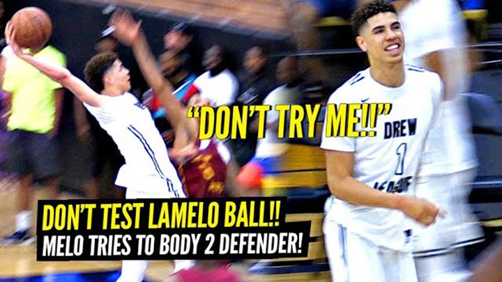 LaMelo Ball Gets Tested and Responds by Trying to BODY 2 Defenders!! Almost Logged a Triple Double with Steals!!