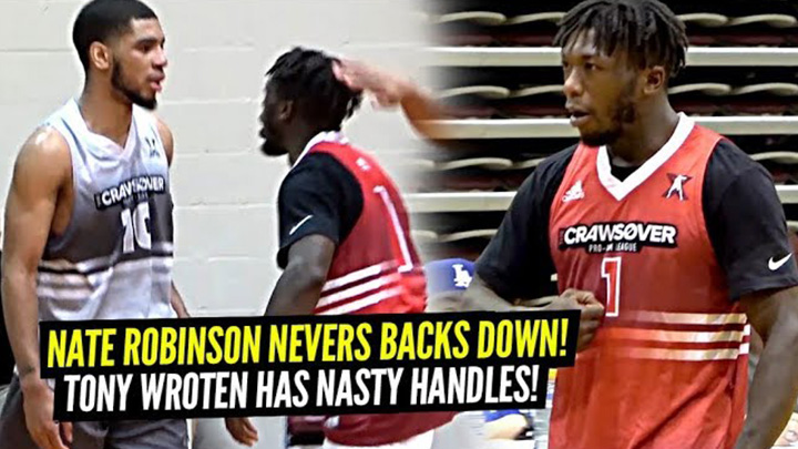 Nate Robinson Tells Defender HE'S Too Little Then Gets BUCKETS!!