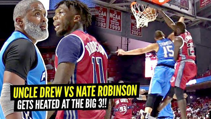 Nate Robinson vs The REAL Uncle Drew Gets HEATED at The Big 3!!