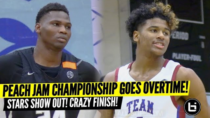 Jalen Green & Russell Westbrook's Team Why Not vs MOKAN EPIC OVERTIME Peach Jam Finals!!