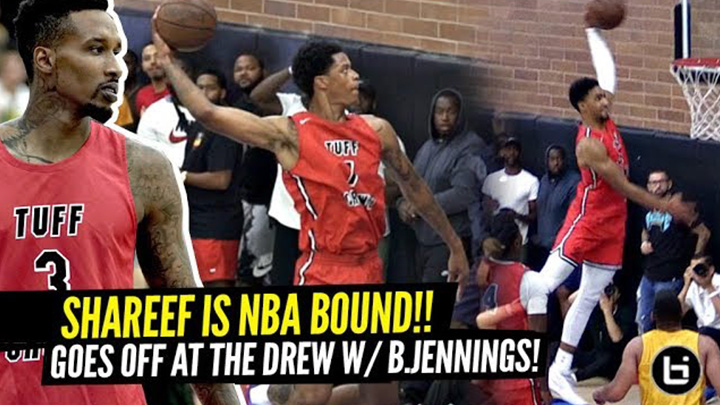 Shareef O'Neal PROVES He's NBA Bound at The Drew League!?