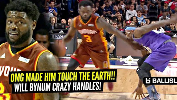 NBA PG Will Bynum NASTIEST Ankle Breaker Of The Year at The Big 3!!! Bivouac vs Ghost Ballers!