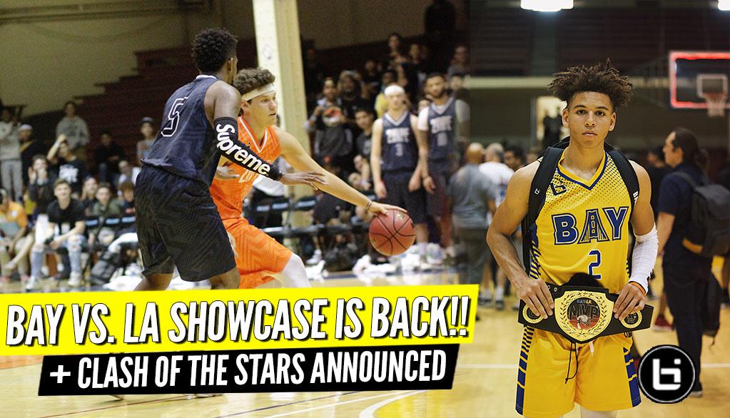 Bay vs. LA Showcase + Clash of the Stars Announced!