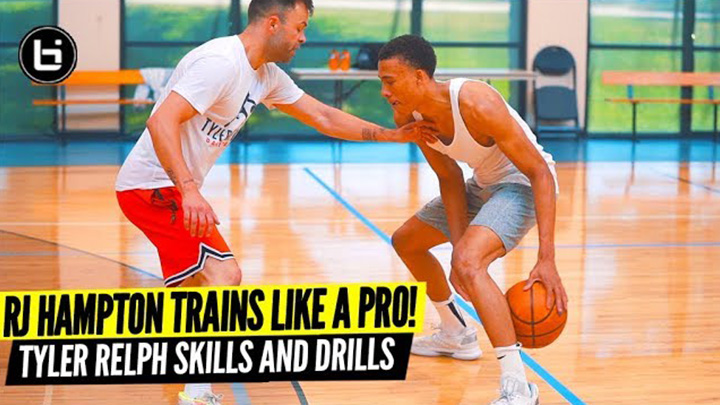 RJ Hampton is on That PRO Grind! Private Skills Workout w/...