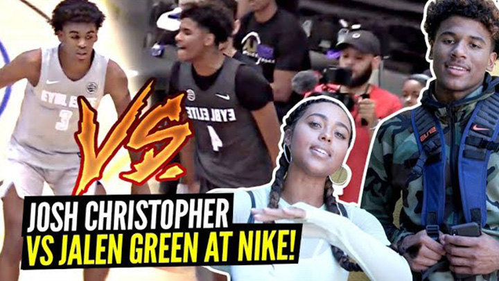 The Nike Skills Academy Showcase was LOADED! Jalen Green vs...