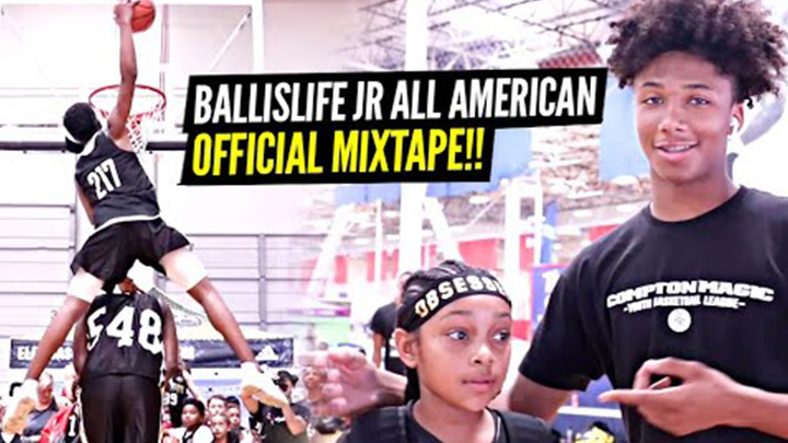 Ballislife Jr All American Camp Official Mixtape! These Middle Schoolers are Evolving!