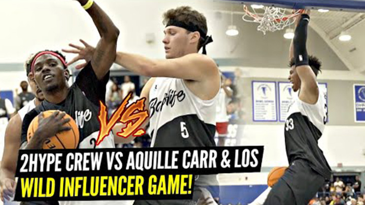 Jesser, Kris London, and 2HYPE Squad vs Aquille Carr and White Iverson Went Down to the Wire at Bay vs LA Celeb Game!