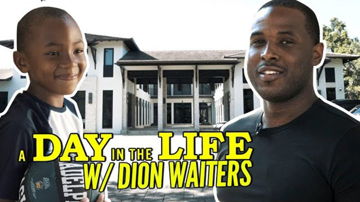 A Day in the Life with Dion Waiters! Miami Heat Fan Favorite is LOCKED IN!