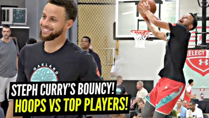 Steph Curry Brought the BOUNCE vs Top High Schoolers at SC30 Camp!