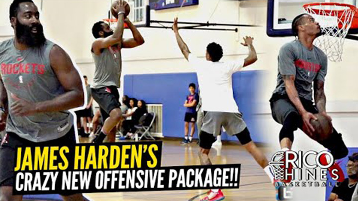 James Harden Busts Out Crazy New Moves at Rico Hines Private Runs!