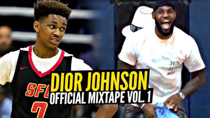 Dior Johnson is the Best 15 Year Old Point Guard in America! Official Mixtape!