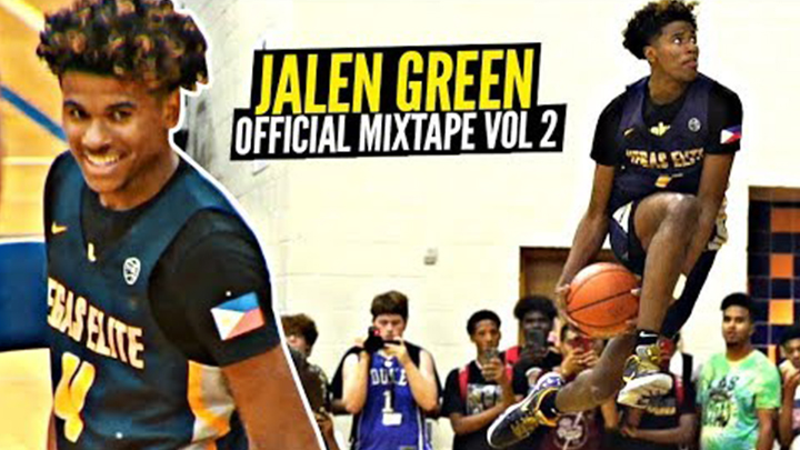 Jalen Green is Just Unreal!! Official Mixtape Vol. 2!!