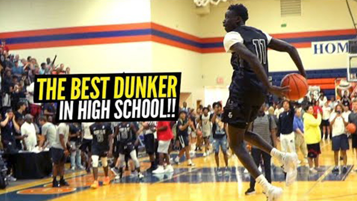 Jimma Gatwech is Hands Down the Best Dunker in High School!...