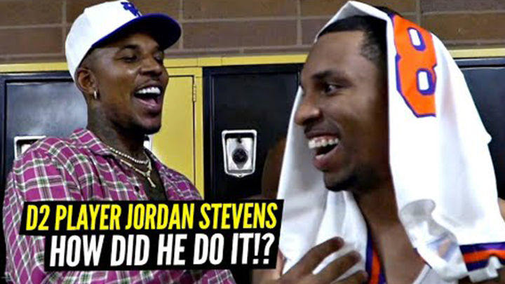 How This D2 Player Blew Up & Got Invited to Play on Nick Young's Drew League Team! Jordan Stevens All Access!!
