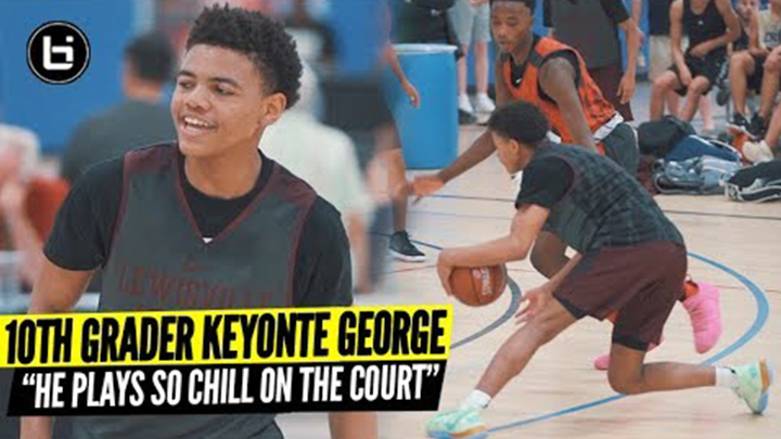 10th Grader Keyonte George Makes Scoring Look Effortless vs State Champs Duncanville!