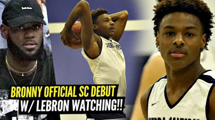 Bronny & Ziaire Williams Go Off in Official Sierra Canyon Debuts!