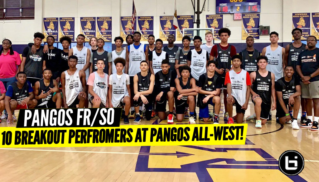 Pangos All-West Fr-So: Top 10 Breakout Performers!