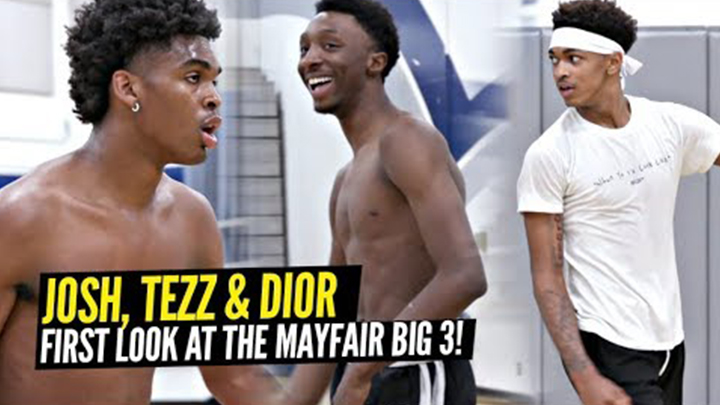 Dior Johnson & Tezz Cobbs are Teaming up with Josh Christopher! First Look at the Trio Together!