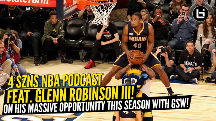 Glenn Robinson III joins 4 SZNS NBA Podcast to talk about his massive opportunity this season, meditation, fishing, Michigan and more! Plus NBA's most confusing teams.
