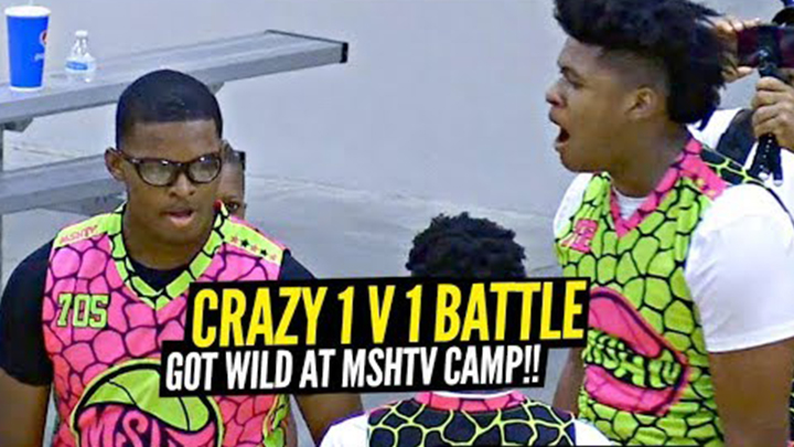 Jahzare Jackson Gets in Intense 1v1 Battle at MSHTV Camp!